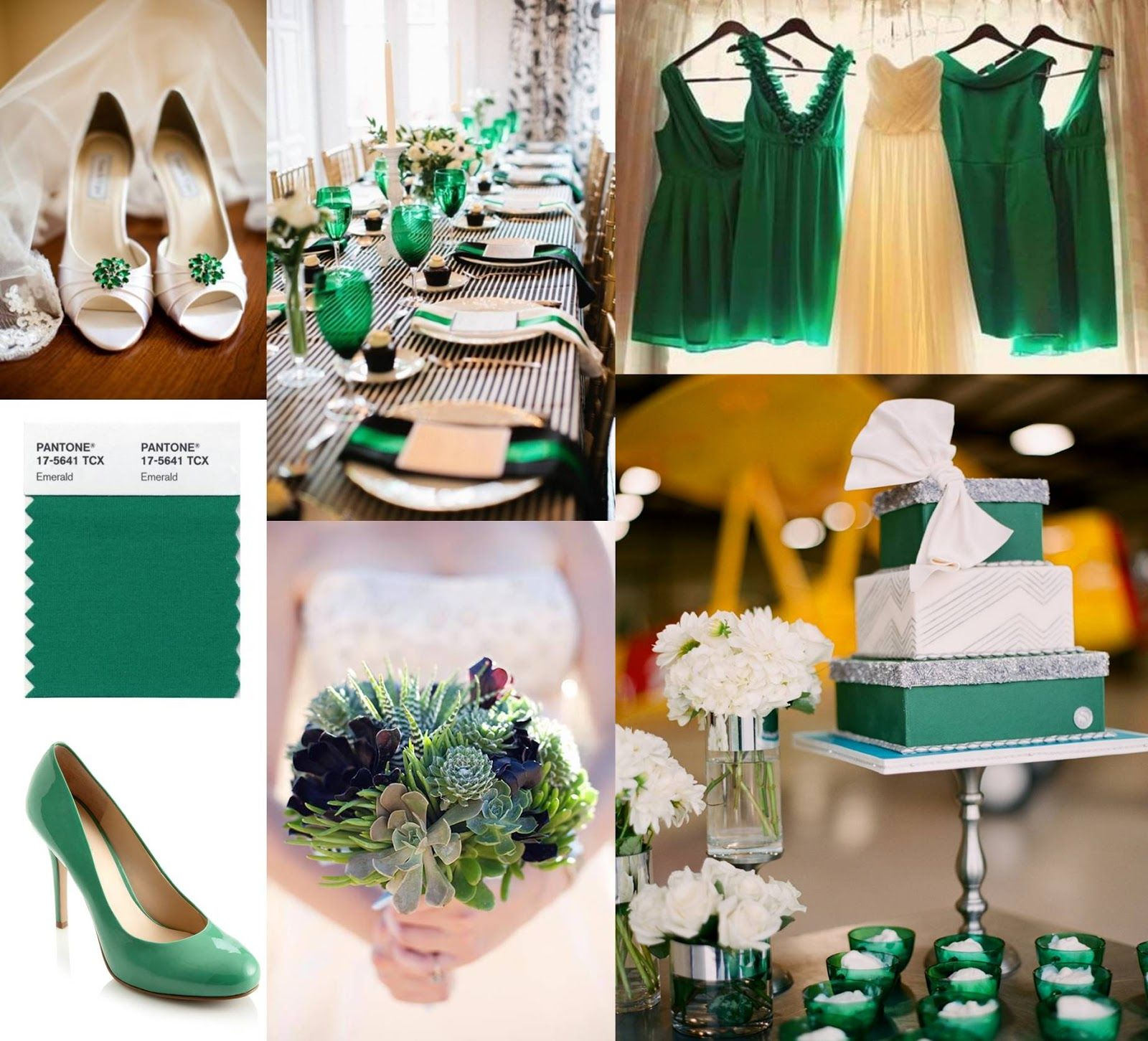 Emerald...Down the Aisle | Mariage deco | Vert emeraude, Decoration ...