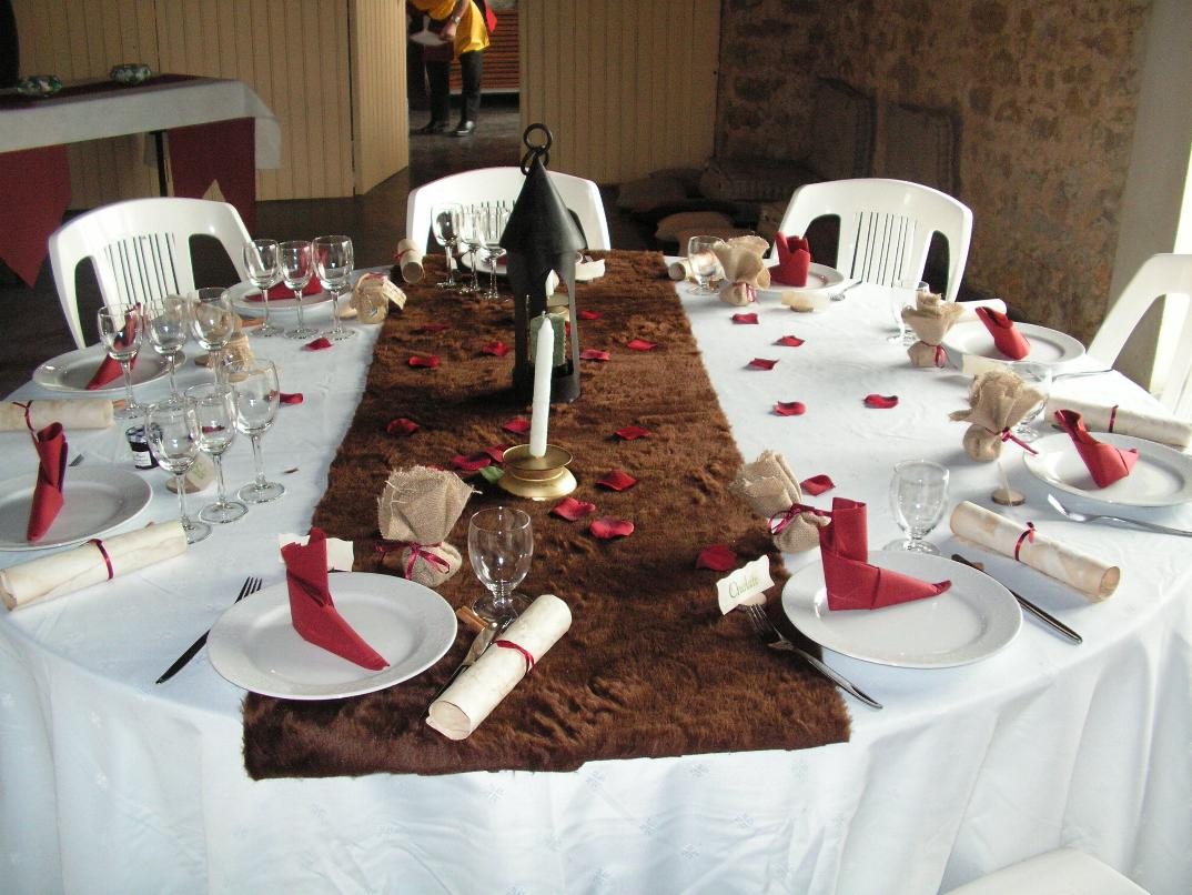 Mariage medieval organisation decors medievaux