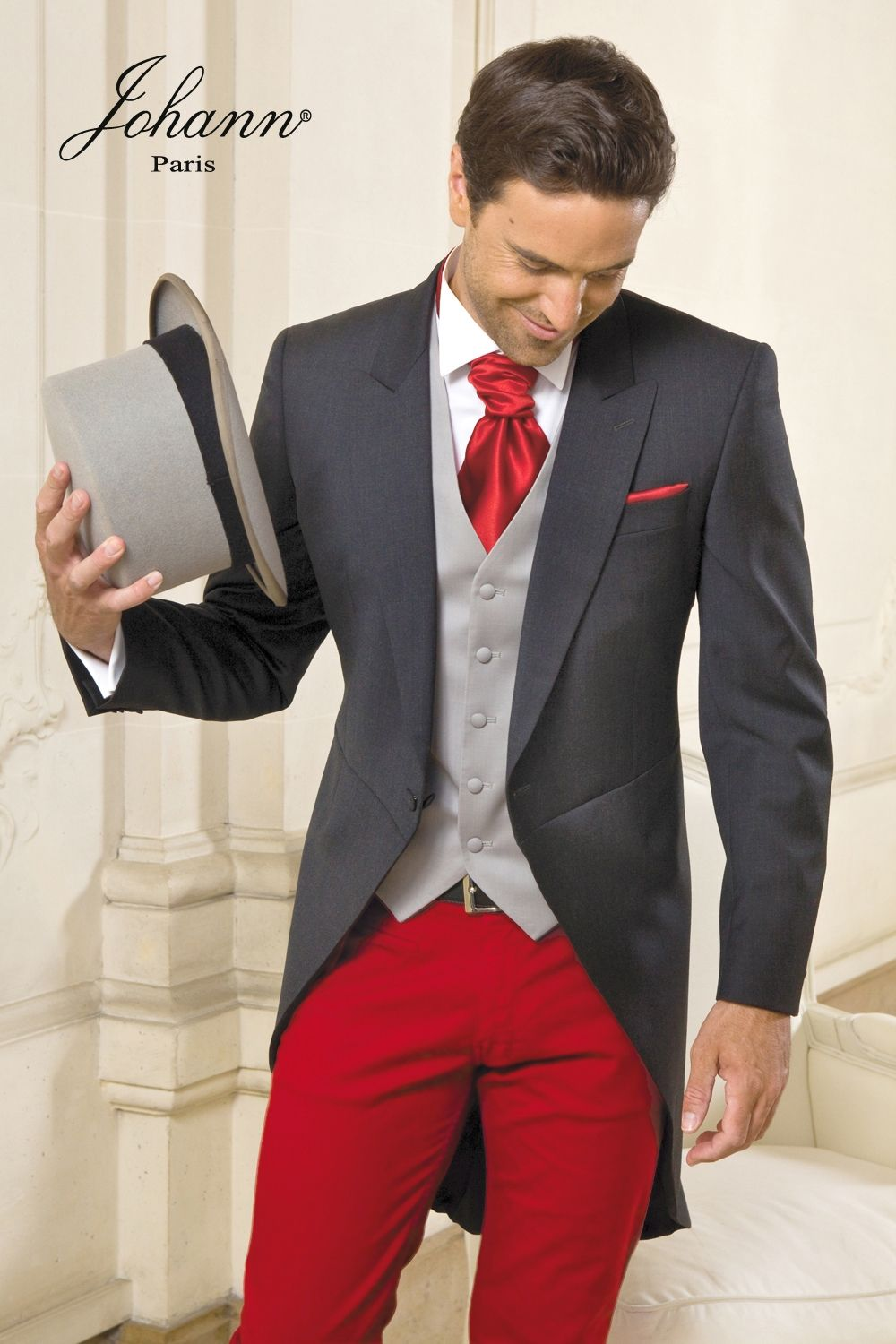 Jaquette (Vente ou Location) et Pantalon rouge | Costume ...